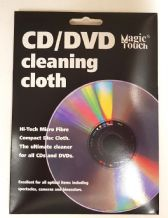 CD DVD Cleaning Cloth Micro Fibre Specialist Cloth Glasses Optical Item Care